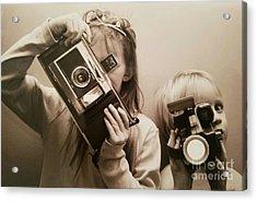 Professional Photographers Acrylic Print by Scott D Van Osdol