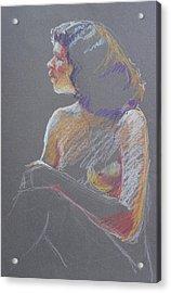 Profile 2 Acrylic Print