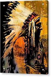 Profile Of Pride Acrylic Print by Paul Sachtleben
