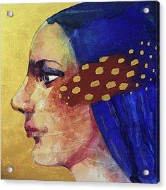 Profilo Di Donna Acrylic Print by Alessandro Andreuccetti
