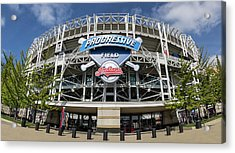 Acrylic Print featuring the photograph Progressive Field by Dale Kincaid
