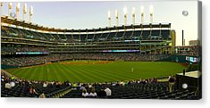 Progressive Field Acrylic Print by Tim  Telep