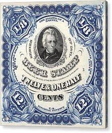 Prohibition Era Beer Stamp Acrylic Print