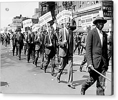 Prohibition Protest March Acrylic Print
