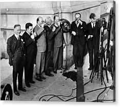 Prohibition Wet Congressmen Drinking Acrylic Print by Everett