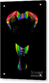Projected Body Paint 2094999b Acrylic Print