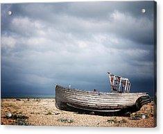 Projekt Desolate Go East Acrylic Print by Stuart Ellesmere