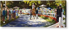 Promenade Acrylic Print by Carolyn Epperly