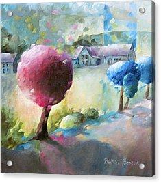Promenade Sur Le Chemin Acrylic Print