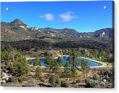 Acrylic Print featuring the photograph Promise Lake And Camp Scherman by Eddie Yerkish