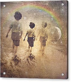 Phases Of The Journey--the Promise Of The Rainbow Acrylic Print