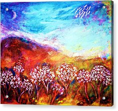Acrylic Print featuring the painting Promise by Winsome Gunning