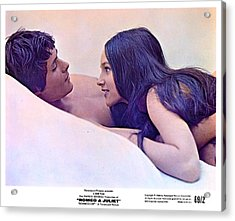 Promotional Photo For Romeo And Juliet 1968. Acrylic Print
