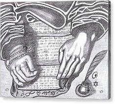 Prophesy Acrylic Print by Richard Heyman