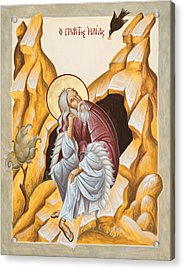 Prophet Elijah  Acrylic Print