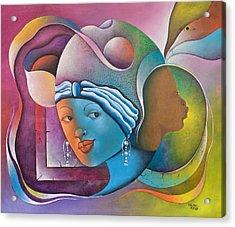Prophetic Dream Acrylic Print by Herold Alvares
