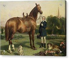 Prosperity Acrylic Print by Sir Edwin Landseer