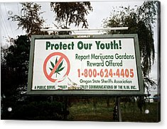 Protect Our Youth Acrylic Print