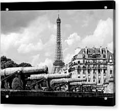 Protecting Paris Acrylic Print by Don Wolf