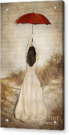 Protection Painted Lady Acrylic Print