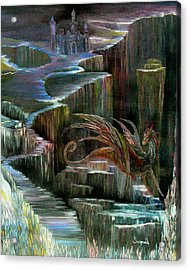 Protector Acrylic Print by Cary Singewald