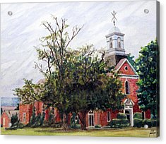 Protestant Chapel At Usmc Camp Lejeune Acrylic Print