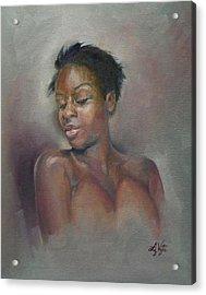 Proud Beauty Acrylic Print