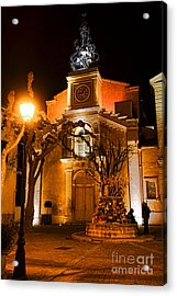 Acrylic Print featuring the photograph Provencal Night by Olivier Le Queinec