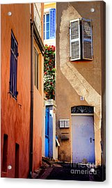 Acrylic Print featuring the photograph Provencal Passage  by Olivier Le Queinec