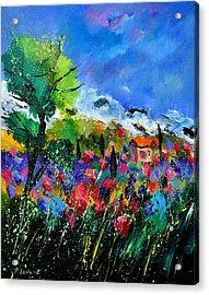 Provence 450170 Acrylic Print by Pol Ledent