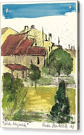 Provence Landscape Sainte Marguerite Acrylic Print by Martin Stankewitz