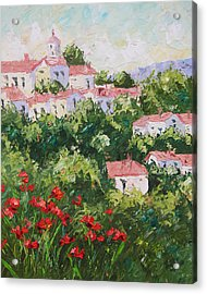 Provence Souht Of France Acrylic Print