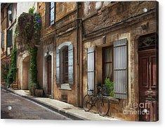 Provence Street Scene Acrylic Print