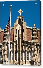 Providence College Harkins Detail Full Color Acrylic Print