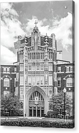 Providence College Harkins Hall Acrylic Print by University Icons