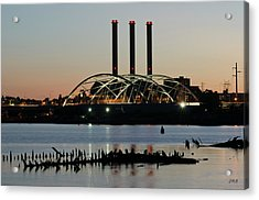 Providence Harbor IIi Acrylic Print by David Gordon