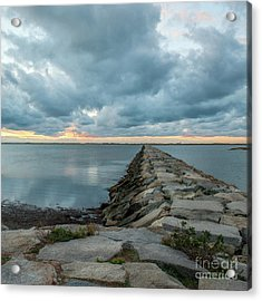 Provincetown Breakwater #3 Acrylic Print