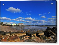 Provincetown Acrylic Print by Catherine Reusch Daley