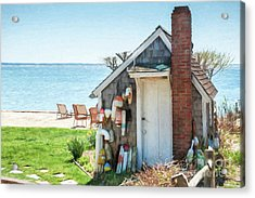Provincetown Shed Acrylic Print