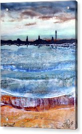 Provincetown Skyline 1 Acrylic Print