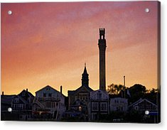 Provincetown Sunset Acrylic Print