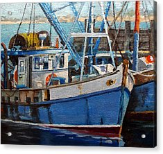 Provinctown Fishing Boats Acrylic Print