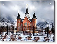 Provo City Center Temple Lds Large Canvas Art, Canvas Print, Large Art, Large Wall Decor, Home Decor Acrylic Print