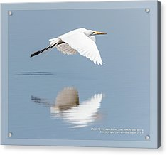 Acrylic Print featuring the photograph Psalm 121 8 by Dawn Currie