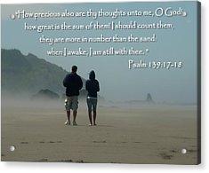 Psalm 139 Acrylic Print
