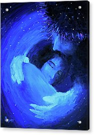 Psalm 139, The Inescapable God Acrylic Print by Mike Moyers