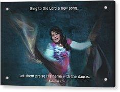 Psalm 149 Acrylic Print