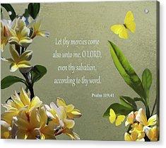 Psalms 02 Acrylic Print