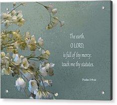 Psalms 03 Acrylic Print