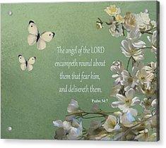 Psalms 04 Acrylic Print